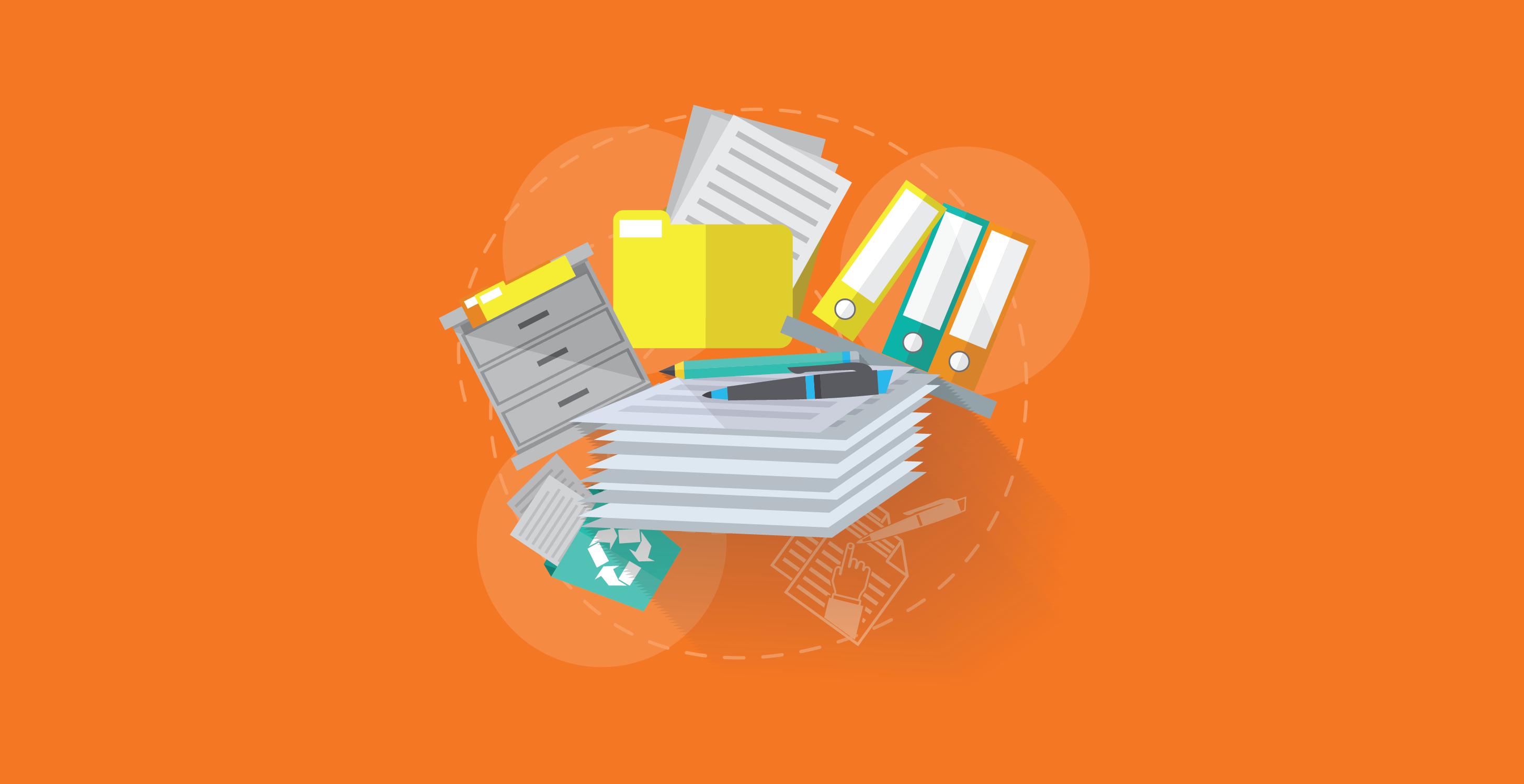 Gestão de documentos simplificada